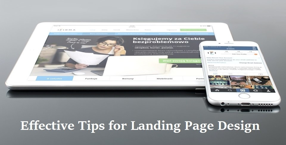 Effective Tips for Landing Page Design